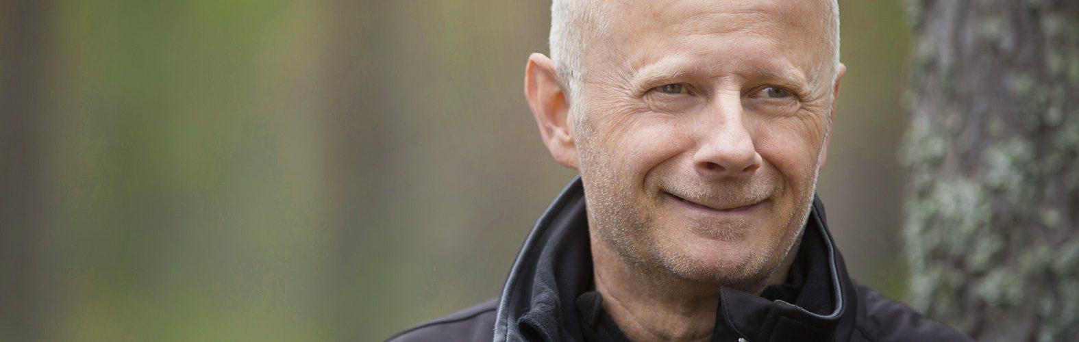 Instruktör i Umeå allmänlydnad och specialgrenar Ulf Sörlin